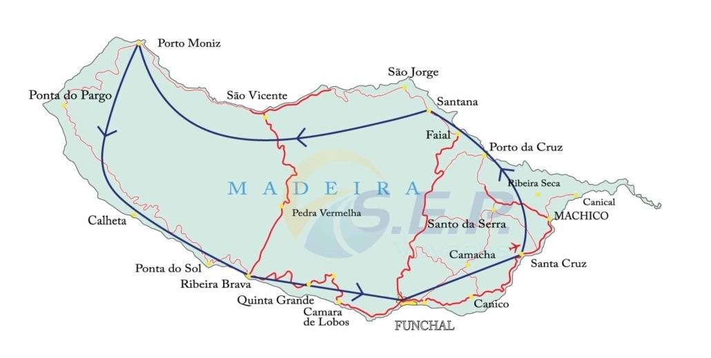 Circuit de 8 jours sur l'île de Madère