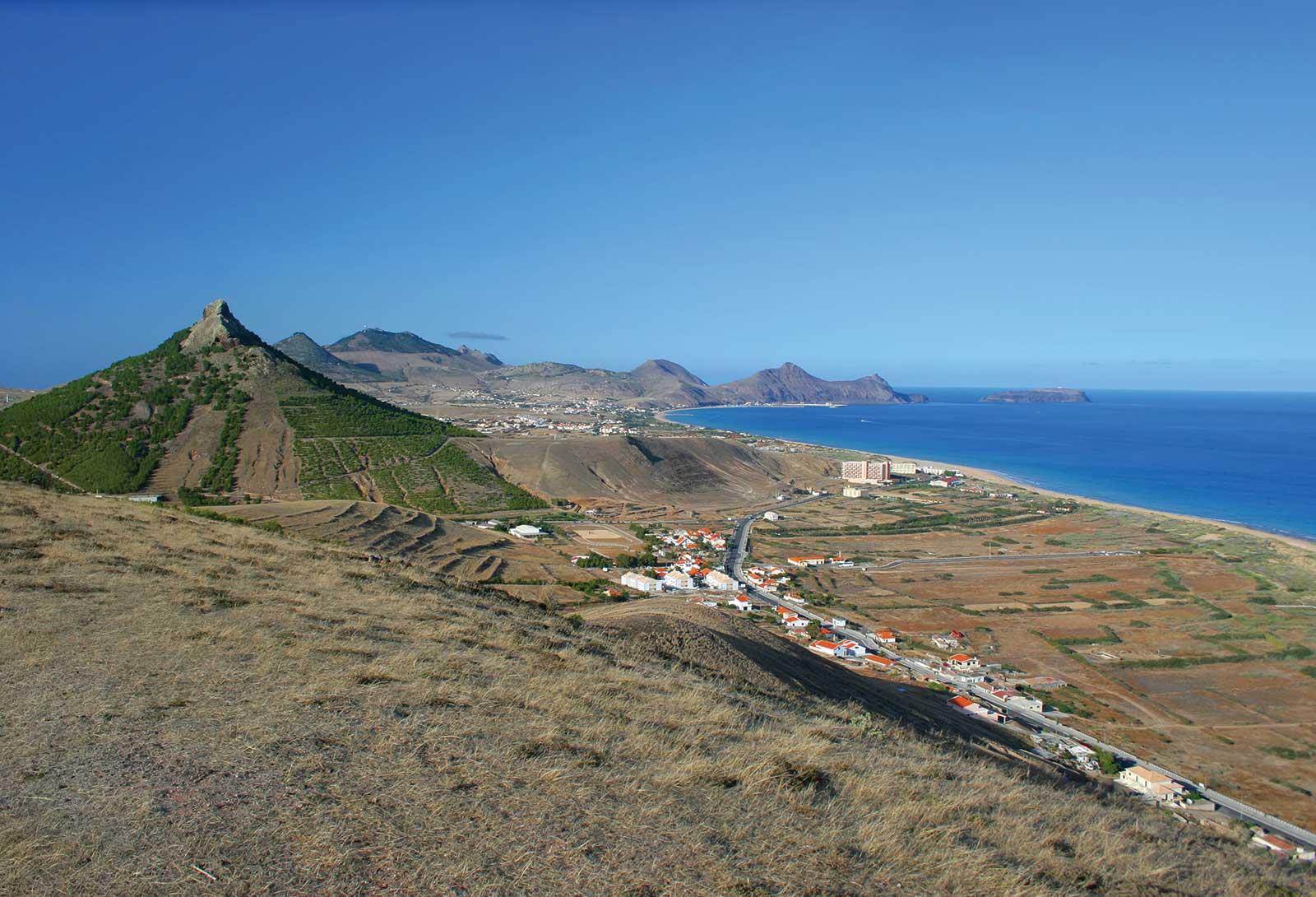 Excursion proposant le tour de l'île de Porto Santo