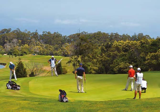 Le Santo da Serra Golf Club de Madère