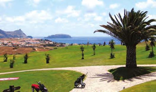 Porto Santo Golf de Porto Santo sur l'île de Madère
